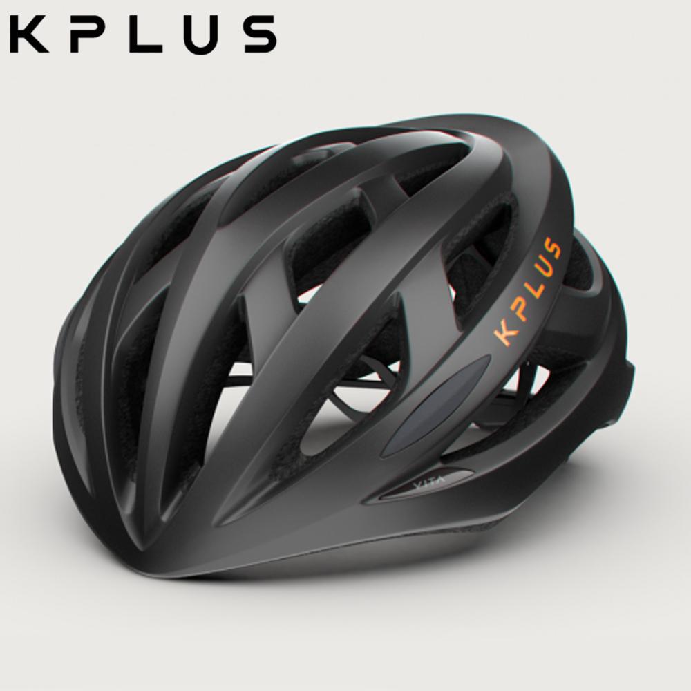 KPLUS 單車安全帽S系列公路競速-VITA Helmet-黑橘