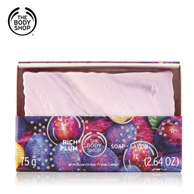 The Body Shop 紫梅潔膚皂 75G