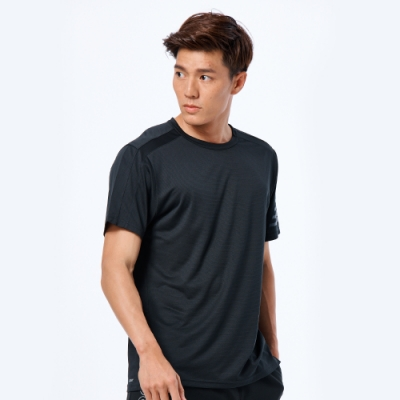 New Balance NB Dry 排汗短袖上衣 AMT93193BK 男性 黑色