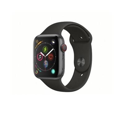 (福利品)Apple Watch Series4 44mm (GPS+網路) 44mm 鋁金屬錶殼配運動錶帶