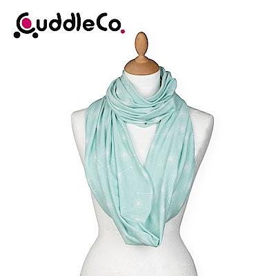 英國CuddleCo 多功能時尚造型哺乳圍巾-薄荷點點
