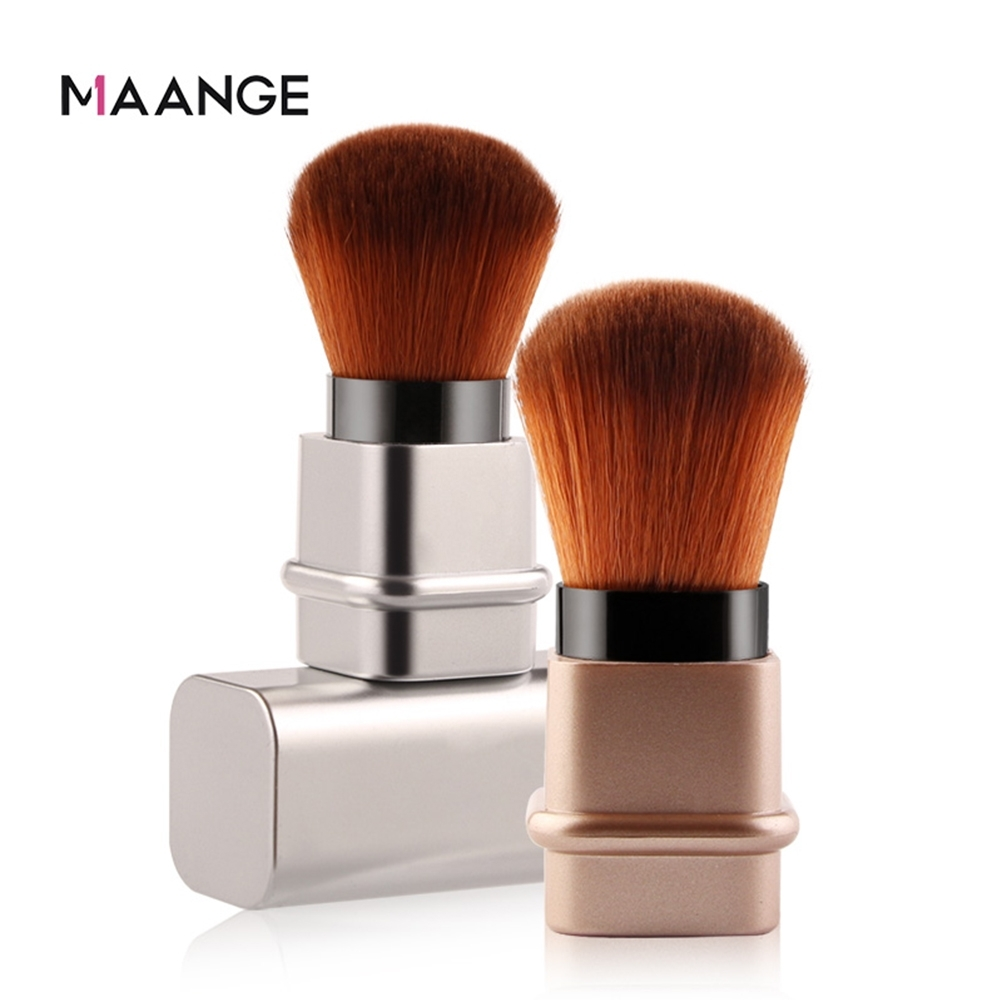MAANGE 便攜伸縮腮紅刷 攜帶用腮紅刷 美妝工具