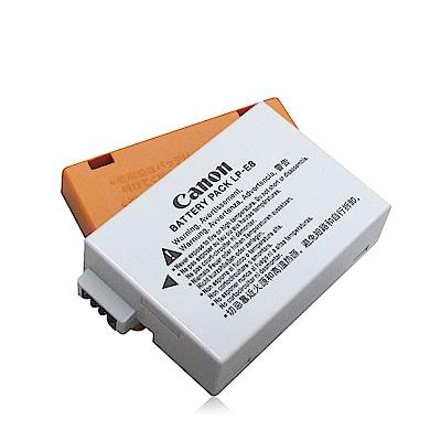 Canon LP-E8 相機專用原廠鋰電池 (附原廠電池蓋)