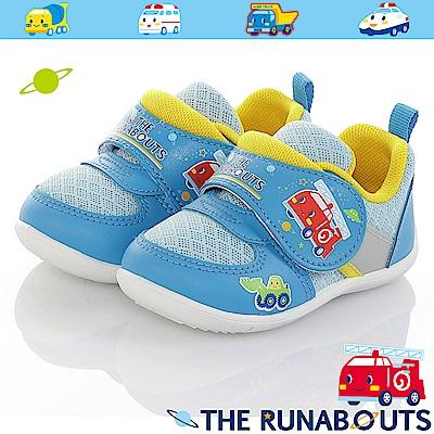 三麗鷗 THE RUNABOUTS童鞋 輕量抗菌防臭休閒鞋-水