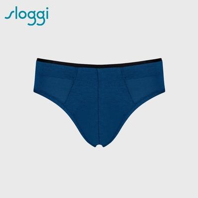 sloggi men  S  Sophistication系列合身三角褲 紳士藍 Y90-416 E3