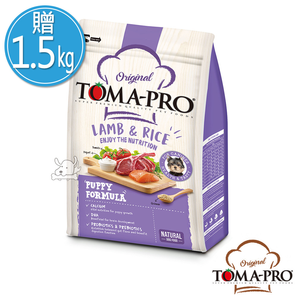 TOMA PRO 優格 聰明成長 羊肉+米 幼犬 飼料 7公斤