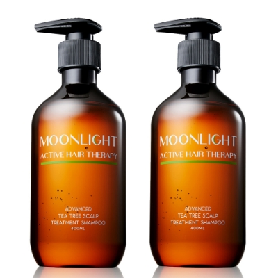 Moonlight 莯光 進化版茶樹控油淨化洗髮精 400 ml x2