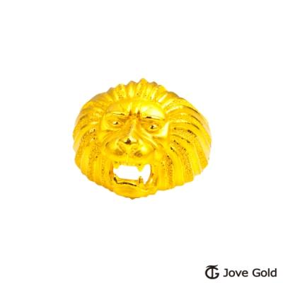 Jove Gold 漾金飾 祥獅獻瑞黃金戒指