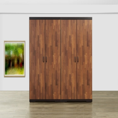 MUNA 艾曼5X7尺雙吊衣櫥(共兩色)  150X55X203cm