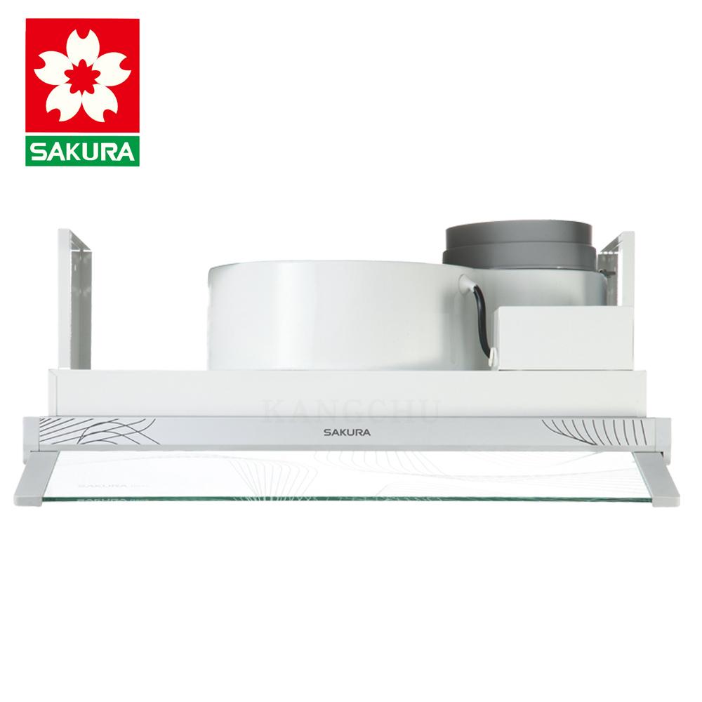 (下單登記送600)櫻花牌 R605 套房適用單出風口60cm兩用隱藏式除油煙機