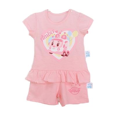 POLI正版安寶短袖精梳純棉套裝 k50538 魔法Baby