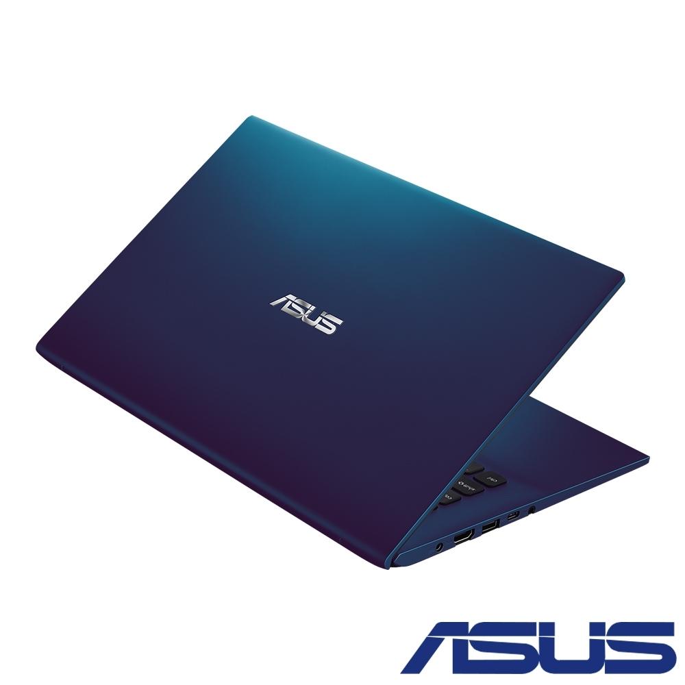 ASUS X412FA 14吋筆電 (i5-10210U/4G+8G/PCIE512GSSD/FHD IPS/Vivobook/孔雀藍/特仕版)