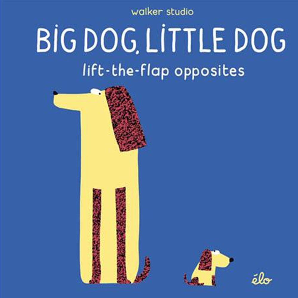 Big Dog,Little Dog:Lift-The-Flap Opposites