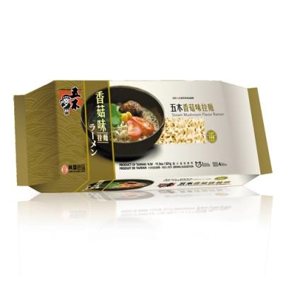 五木  香菇味拉麵(321g/包)