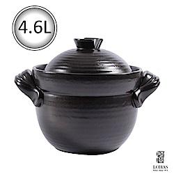 陸寶 和風雙層蓋陶鍋3號 4.6L