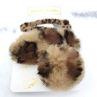 Hera 赫拉 豹紋蝴蝶結夾套三件組(3款)