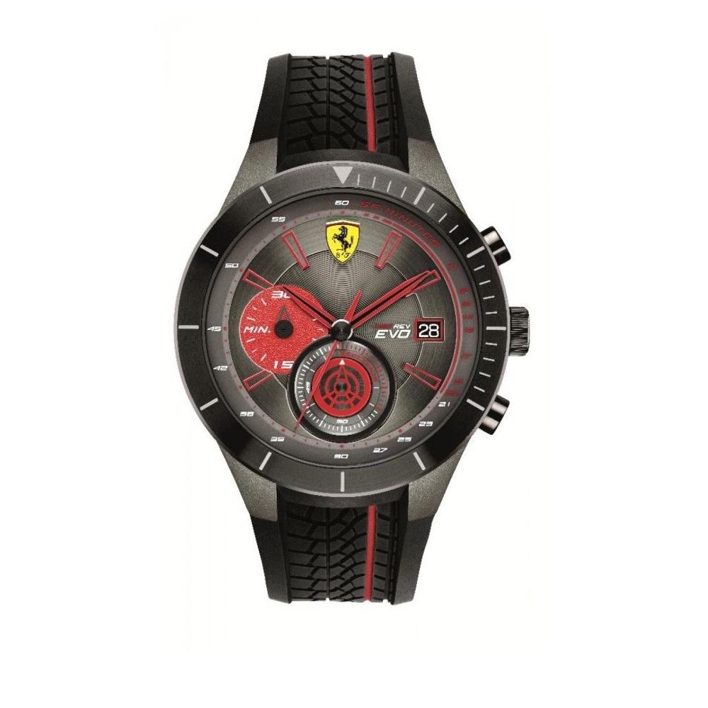 FERRARI 法拉利時尚流行速度運動錶//紅/FA0830341