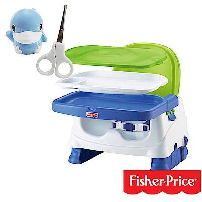 費雪寶寶小餐椅+酷咕鴨KU.KU. 造型安全剪刀組