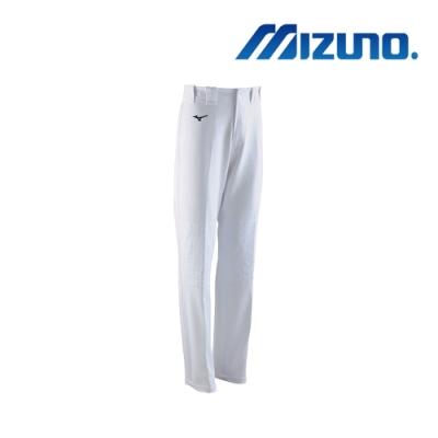 MIZUNO 美津濃 男全長寬褲口型棒壘褲 白 12TD0M0101