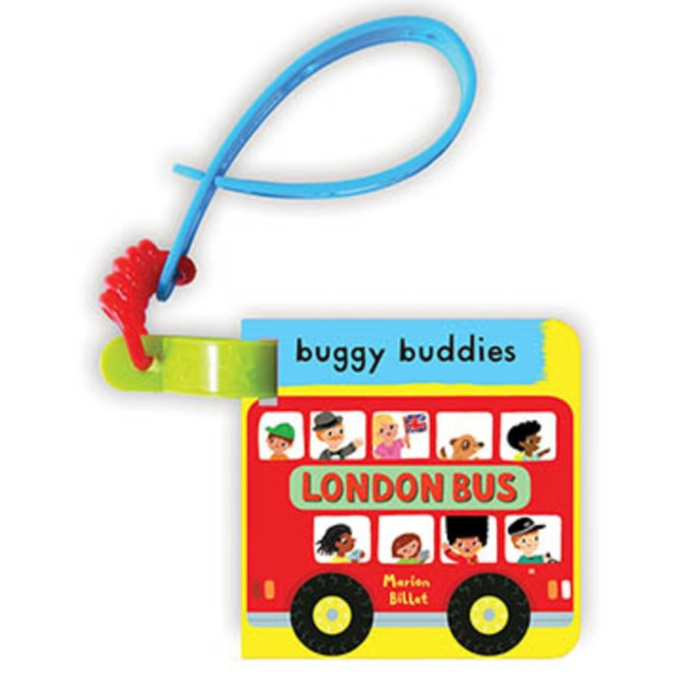 My First London Bus Buggy Buddy 倫敦巴士之旅硬頁吊掛書 product image 1