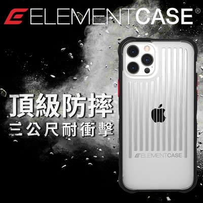美國 Element Case iPhone 13/13 Pro Special Ops 特種行動軍規防摔殼 - 透明
