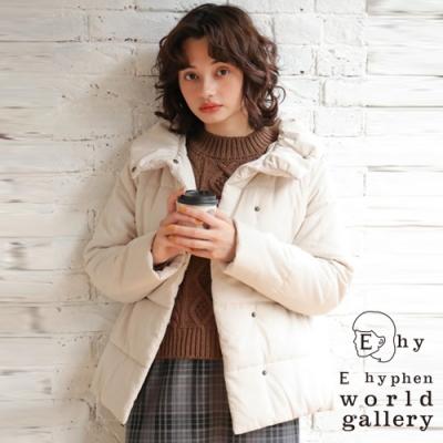 E hyphen 綁帶設計中空纖維保暖夾克外套