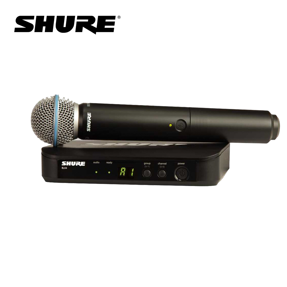 Shure BLX24/BETA58 無線麥克風組 系統搭配 BETA58 麥克風