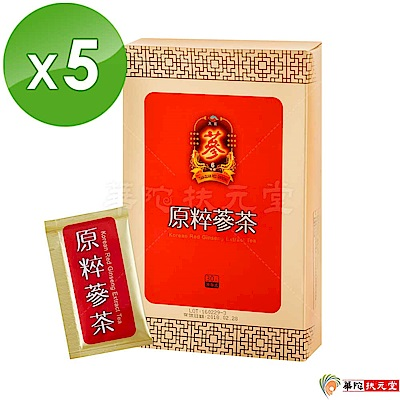 華陀扶元堂 天官原粹蔘茶5盒(30包/盒)