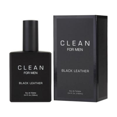 *Clean Black Leather 黑色皮革男性淡香水 100ml