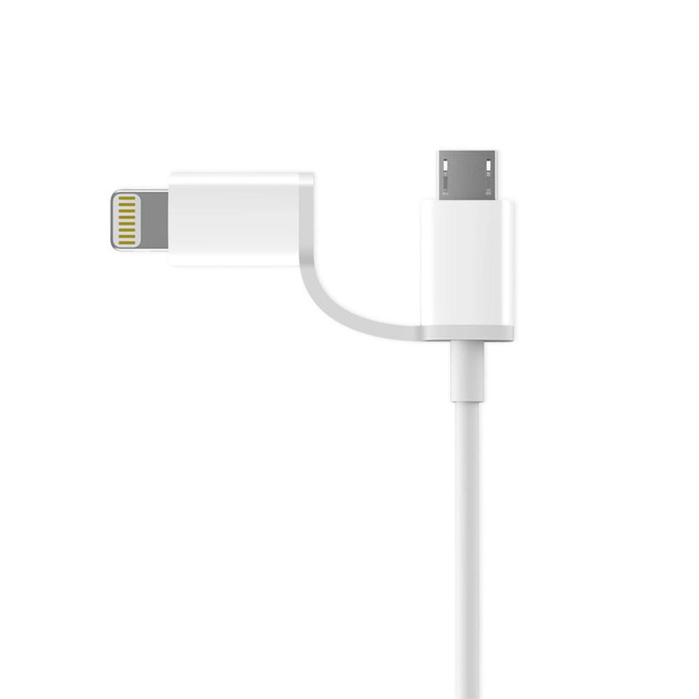 ZMI 紫米 Lightning+Micro USB 傳輸充電線-100cm(AL801)