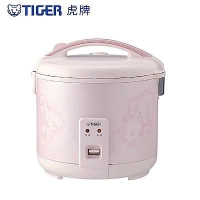 (限量福利品 日本製) TIGER虎牌 10人份傳統機械式電子鍋(JNP-1800_Q)
