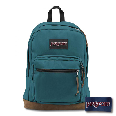 JanSport -RIGHT PACK系列後背包 -海盜藍