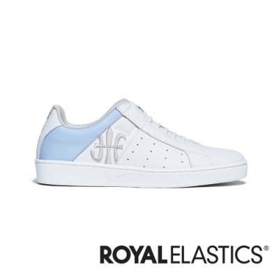 ROYAL ELASTICS Icon Genesis 白銀藍真皮運動休閒鞋 (女) 91902-658