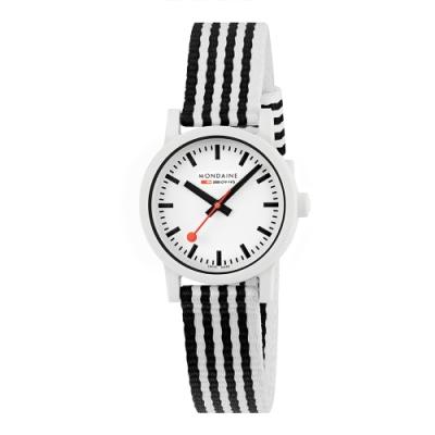 MONDAINE 瑞士國鐵 essence –黑與白 41mm+36mm 對錶