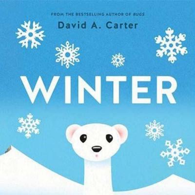 Winter:A Pop-Up Book 冬天降臨精裝立體書