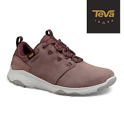 TEVA 美國-女 Arrowood 2 Low WP 低筒防潑水休閒鞋 紫藕