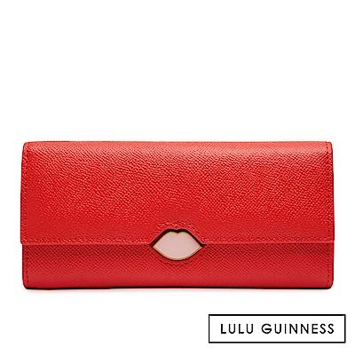 LULU GUINNESS CORA 長夾 (紅)