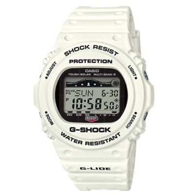 CASIO G-SHOCK G-LIDE 極限運動光動能電波錶 GWX-5700CS-7