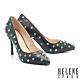 高跟鞋 HELENE SPARK 前衛優雅感鉚釘尖頭美型高跟鞋-黑 product thumbnail 1