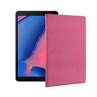 For 三星 Galaxy Tab A 8.0吋 2019  品味皮革紋皮套
