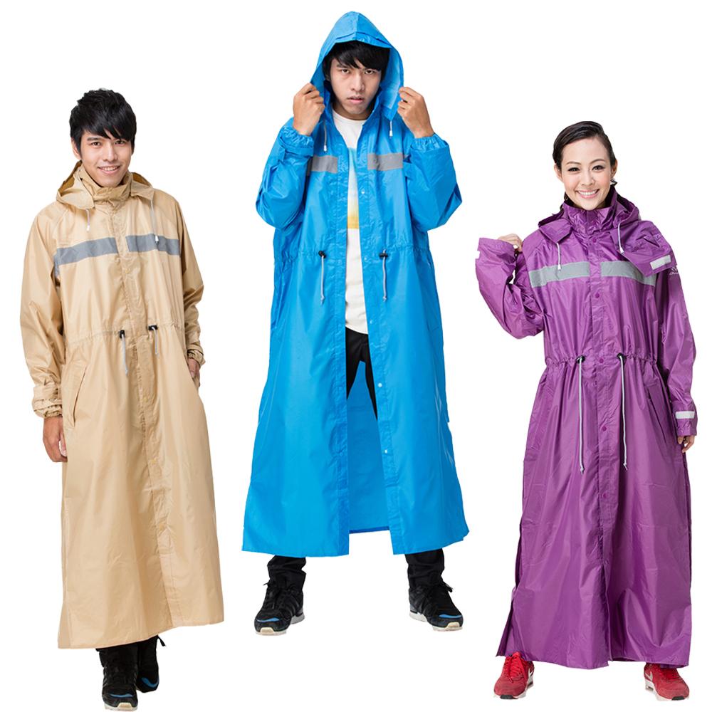 【東伸 DongShen】品格日系多功能大衣型雨衣