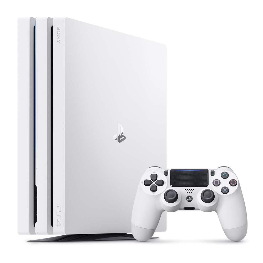 (限定優惠) PS4 Pro 1TB主機 台灣公司貨 (白色)