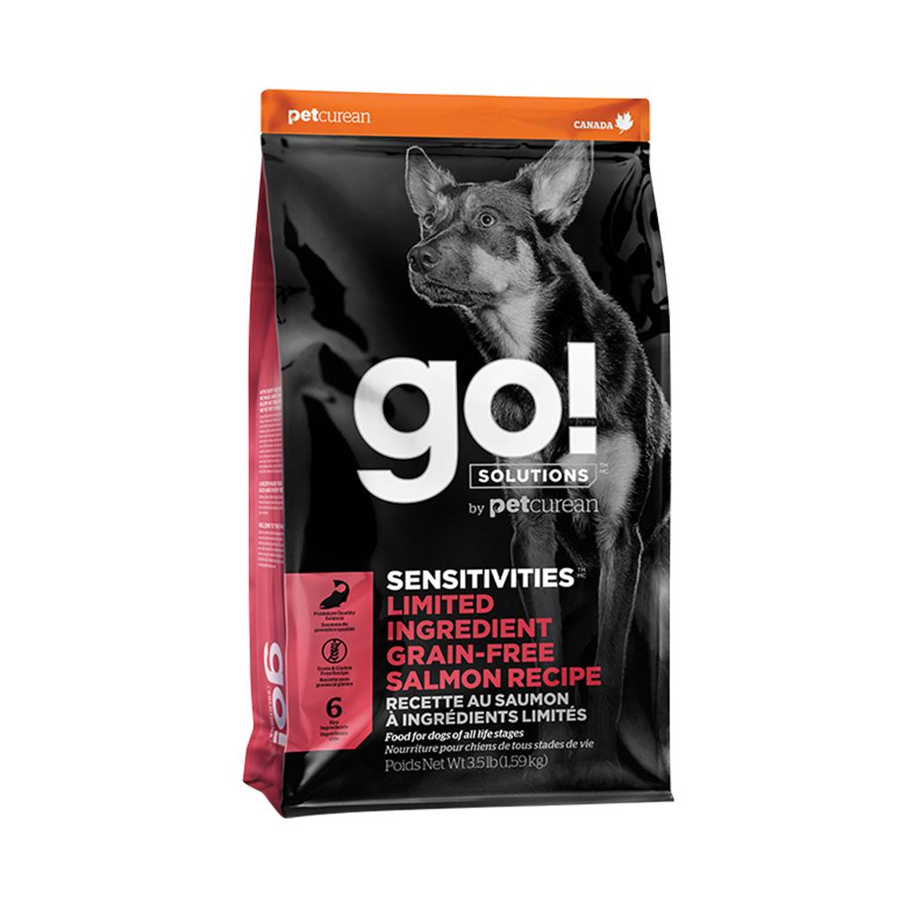 Go! 低致敏鮭魚無穀全犬配方《6磅》
