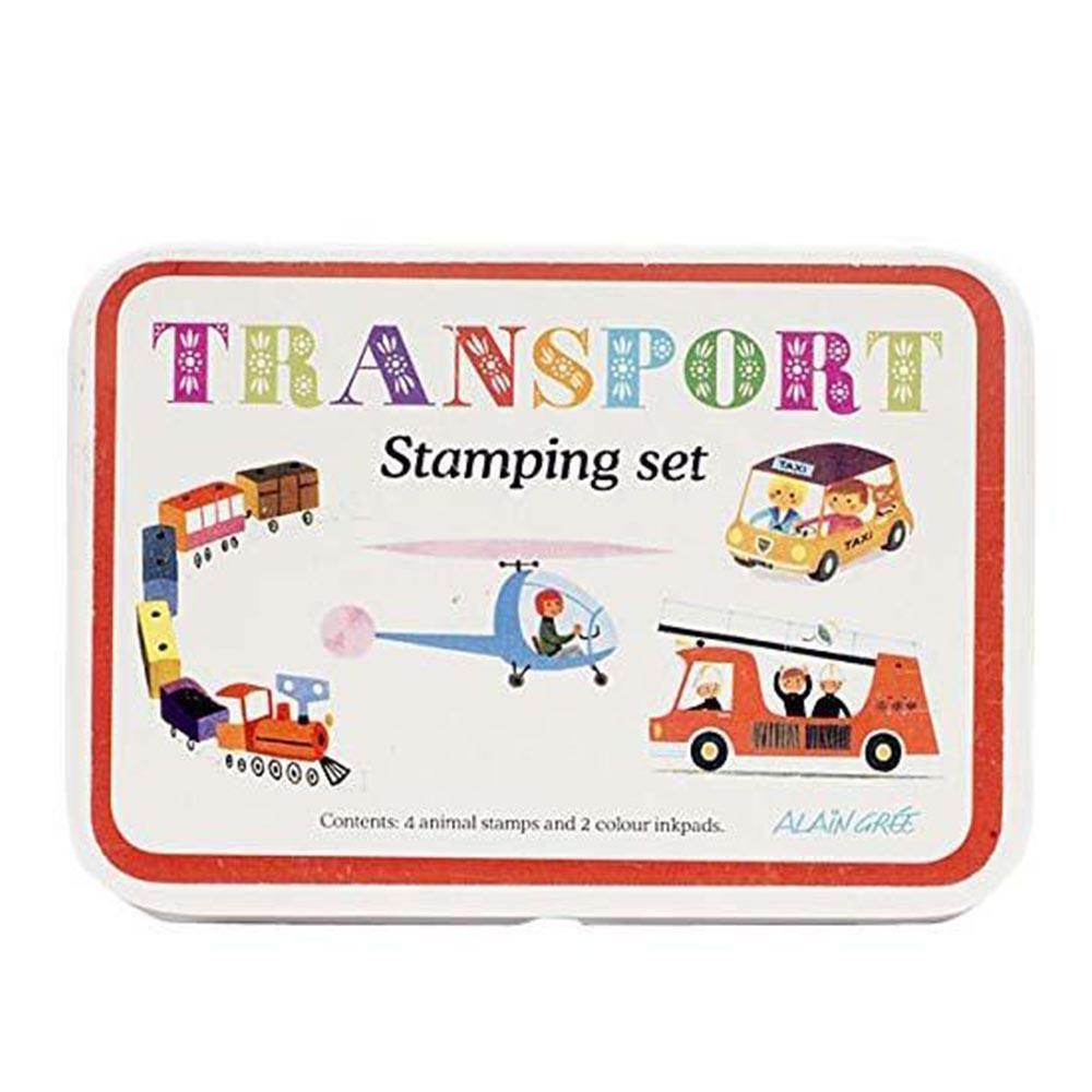 Stamp Sets Transport 印章組-交通