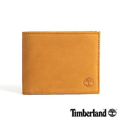 Timberland 男款小麥黃正絨面皮革多夾層皮革短夾 D9063