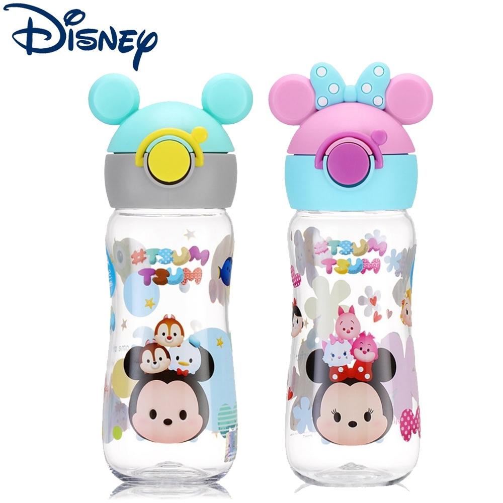 【優貝選】迪士尼tsum tsum 俏皮直飲式兒童便攜水壺400ML
