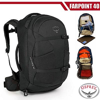 美國 OSPREY 新款 Farpoint 40L 多功能行李背包_火山灰 R