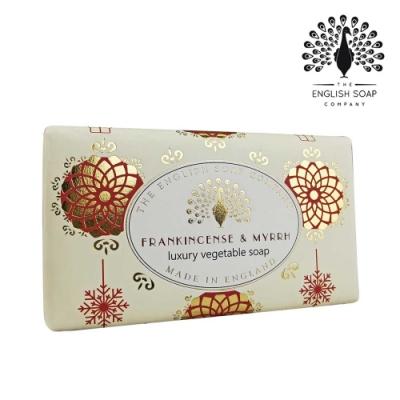 The English Soap Company 乳木果油復古香氛皂-乳香沒藥 Frankincense & Myrrh 190g