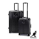 KANGOL-讓世界隨你跳動 80週年紀念款全PC鋁框20+28吋組合行李箱 -深灰組