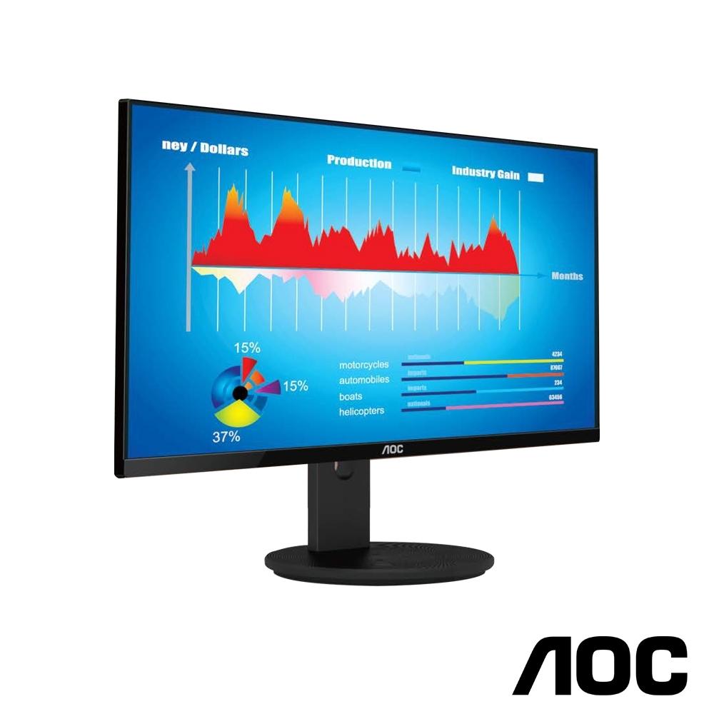 AOC 27型4K高解析 IPS廣視角電腦螢幕 U2790VQ